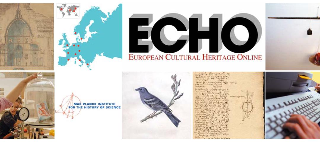 European Cultural Heritage Online (ECHO)
