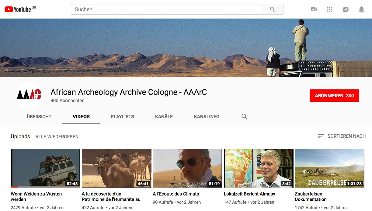 YouTube-Kanal AAArC